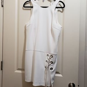 Rebecca Minkoff,  size 4 white halter dress.